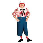 Raggedy Andy Adult Plus Costume 100-124384