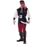 Cutthroat Pirate Adult Costume 100-125472