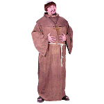 Medieval Monk Adult Plus Costume 100-126275