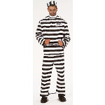 Convict Adult Costume 100-101537