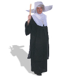 Sister Flighty Hat & Hood  Adult Costume 100-127624