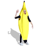 Banana Deluxe Child Costume 100-127649