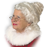 Mrs. Claus Wig Adult 100-130488