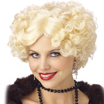 Jazz Baby Wig Blonde Adult 100-133034