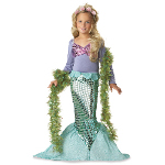 Lil' Mermaid Toddler / Child Costume 100-133087