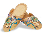 Disney Jasmine Slippers Child Deluxe 100-133490