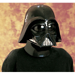 Star Wars Darth Vader 2 Pc. Inj. Molded Mask 100-132194