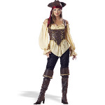 Rustic Pirate Lady - Elite Adult Collection Costume 100-133965