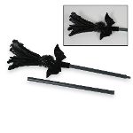 Black Feather Sparkle Broom 100-134125