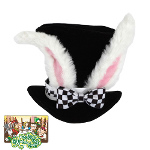 Alice In Wonderland - Classic White Rabbit Hat 100-134370