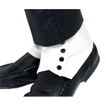 Spats White Adult 100-135484