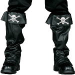 Pirate Boot Covers Adult 100-135338