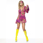 Go Go Dress  Adult Costume 100-135541