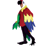 Parrot Deluxe Adult Costume 100-135853