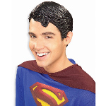 Superman Vinyl Wig Adult 100-135965