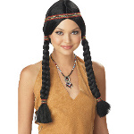 Indian Maiden (Black) Wig 100-138607