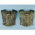 Gold Roman Chest Plate (2 Piece)   100-140414