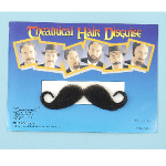 Handlebar Moustache- Black   100-140532