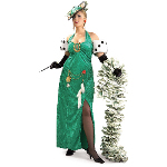 Lady Luck Adult Plus Costume 100-138780