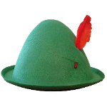 Economy Alpine Hat with Feather 100-105325