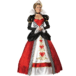 Queen of Hearts Elite Collection Adult Costume 100-139996