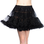 Layered Tulle (Black) Petticoat  100-141210