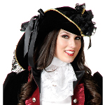 Velvet Pirate Hat   100-142023