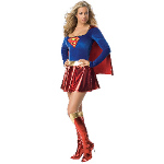 Supergirl Deluxe Adult Costume 100-138624
