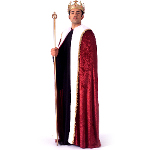 King Robe Adult Costume 100-143172