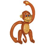 Inflatable Monkey (Small) 100-148428