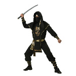 Ninja Warrior Elite Collection Adult Costume 100-146150