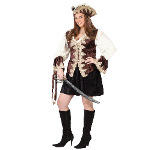 Royal Lady Pirate Adult Plus Costume 100-145559