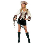 Royal Lady Pirate Adult Costume 100-145563