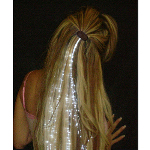 Glowbys White Hair Accessory 100-146380