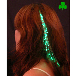 Glowbys Green Hair Accessory 100-146381