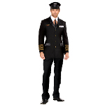 Mile High Pilot Hugh Jorgan Adult Costume 100-148237