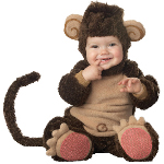 Lil' Monkey Elite Collection Infant / Toddler Costume 100-151946