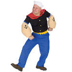 Popeye Adult Costume 100-148917