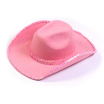 Pink Sequin Cowboy Hat 100-149040