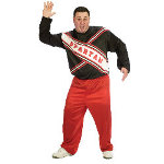 SNL Spartan Cheerleader Male Adult Plus Costume 100-148904