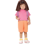 Dora The Explorer Halloween Sensations Dora Child Costume 100-150172