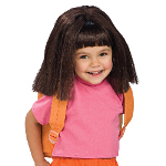 Dora The Explorer Dora Wig Child 100-150175