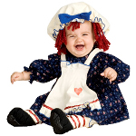 Yarn Babies Ragamuffin Dolly Infant / Toddler Costume 100-150419
