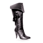 Pirate (Black) Adult Boots 100-149676
