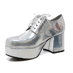 Silver Pimp Adult Shoes 100-149739