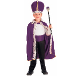 Purple King Robe and Crown Child Costume 100-152249