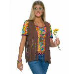 Hippie Vest Adult Costume 100-152284