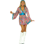 Wild Swirl Dress Adult Costume 100-152292