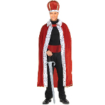 King Robe & Crown Adult Costume Kit 100-152327