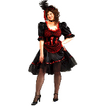 Saloon Girl Adult Costume 100-152336